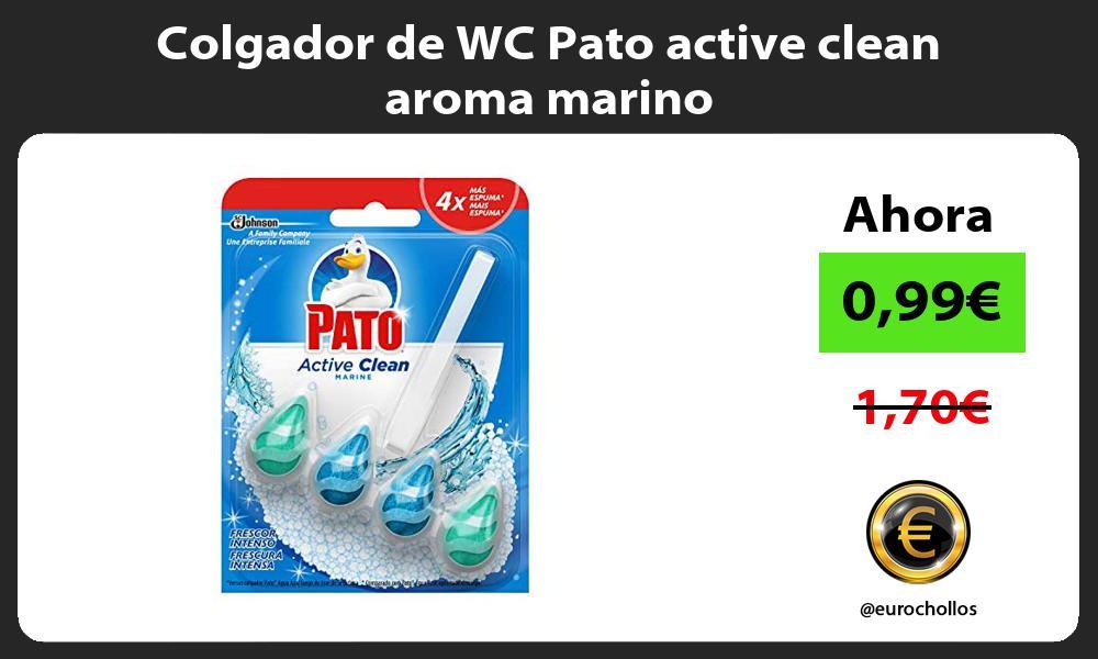 Colgador de WC Pato active clean aroma marino