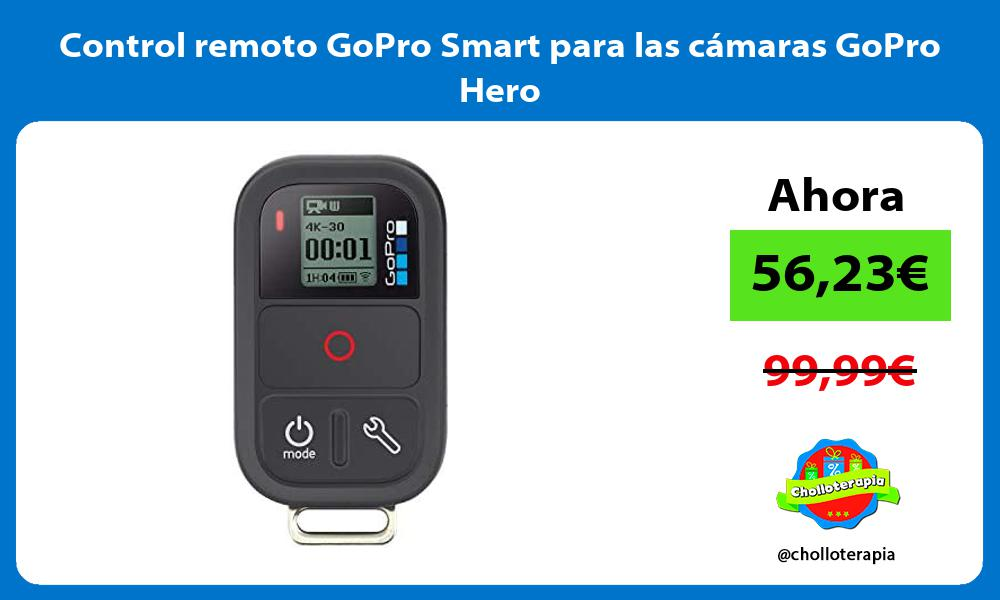 Control remoto GoPro Smart para las cámaras GoPro Hero