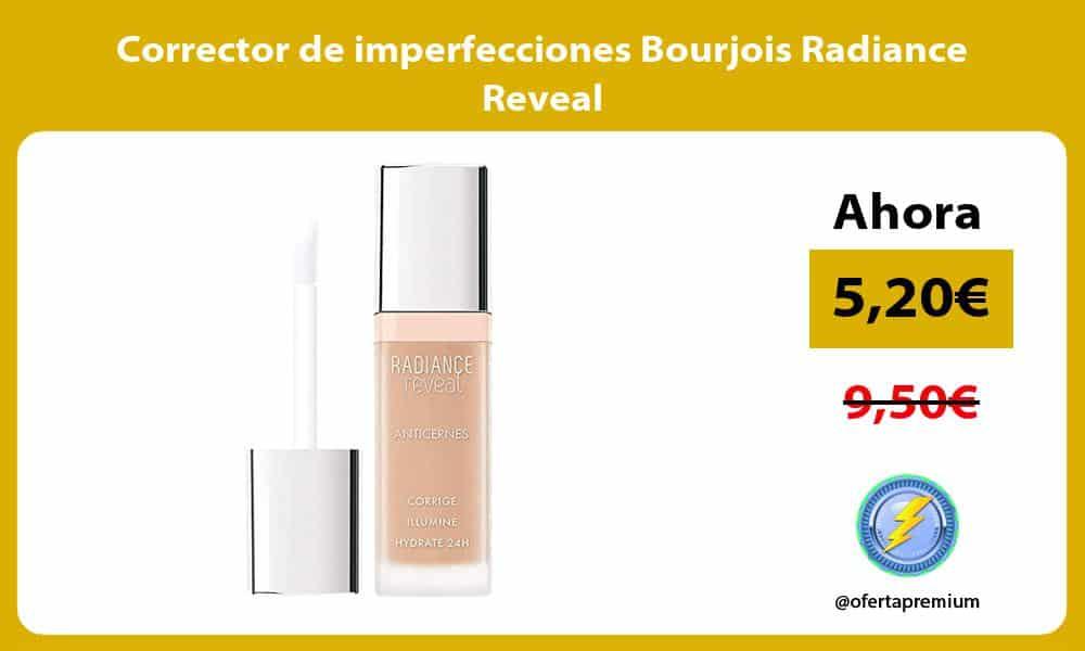 Corrector de imperfecciones Bourjois Radiance Reveal
