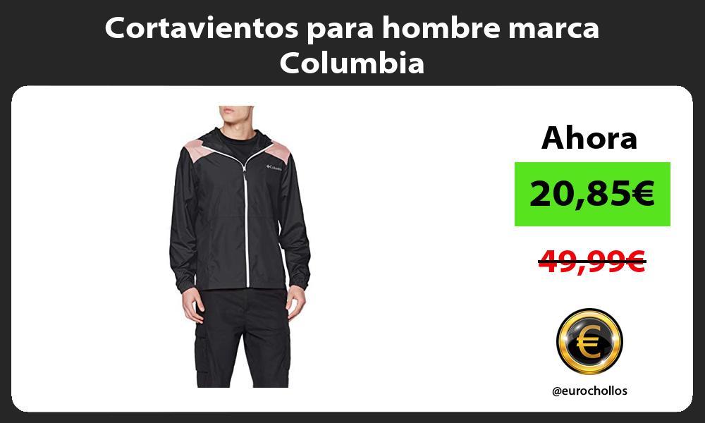 Cortavientos para hombre marca Columbia