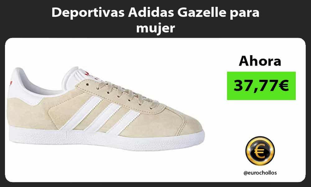 Deportivas Adidas Gazelle para mujer