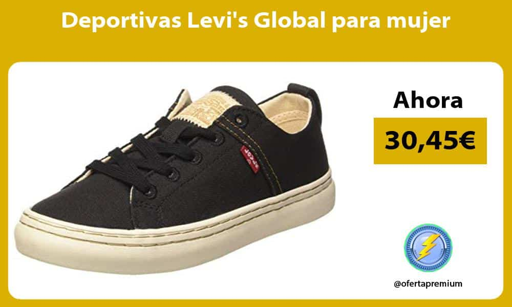 Deportivas Levis Global para mujer