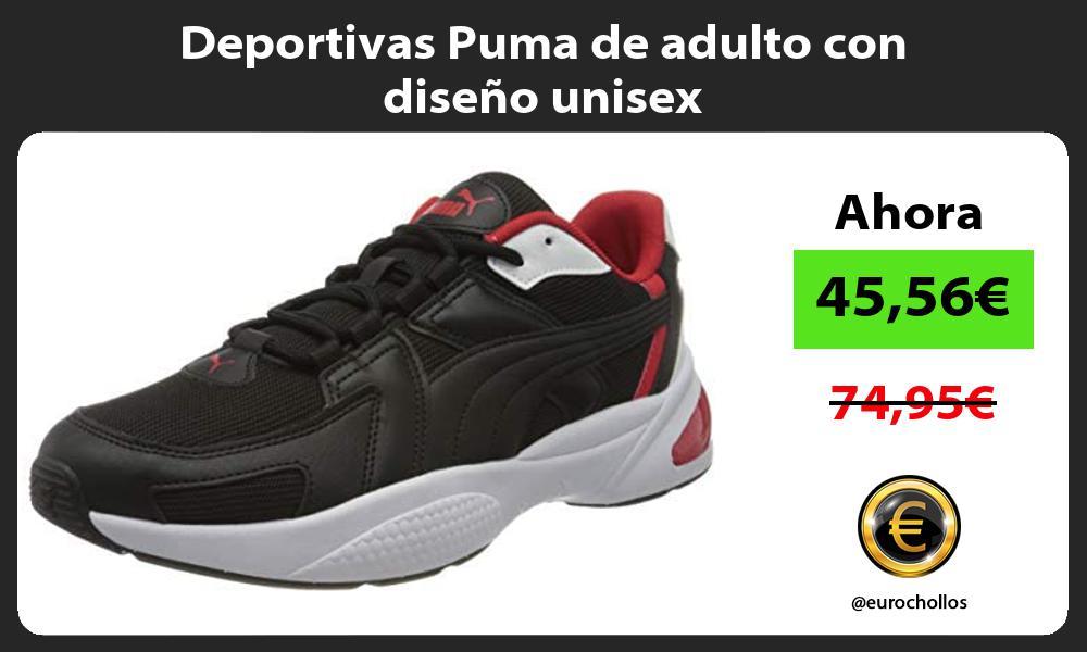 Deportivas Puma de adulto con diseño unisex