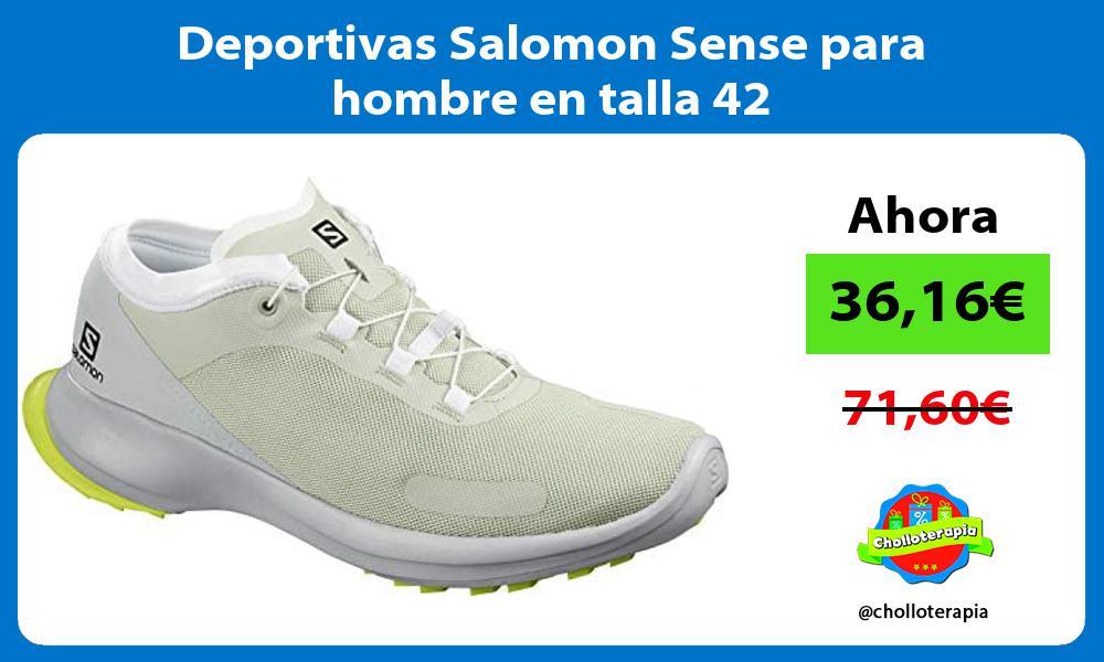 Deportivas Salomon Sense para hombre en talla 42