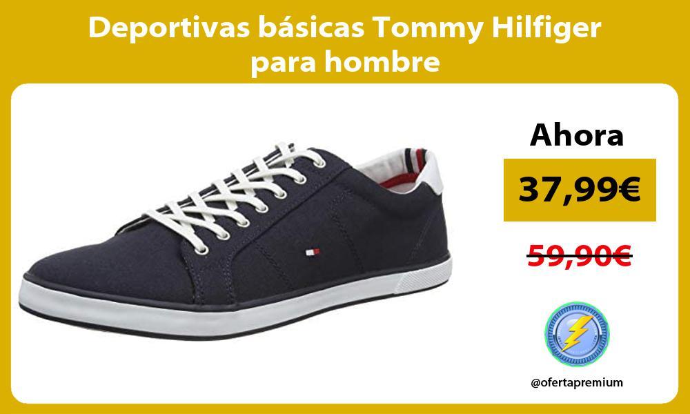 Deportivas básicas Tommy Hilfiger para hombre