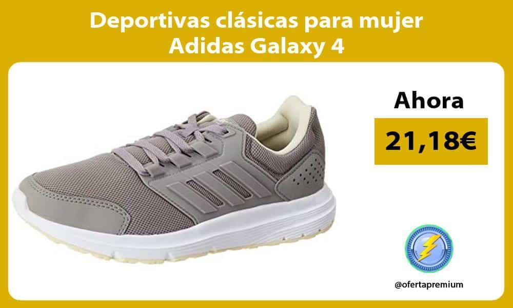 Deportivas clásicas para mujer Adidas Galaxy 4