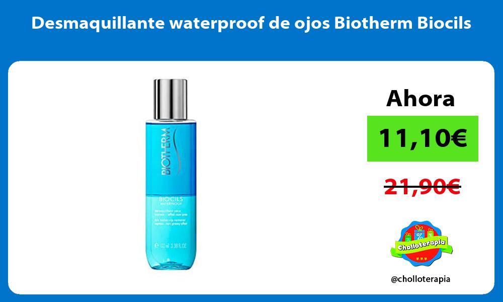 Desmaquillante waterproof de ojos Biotherm Biocils