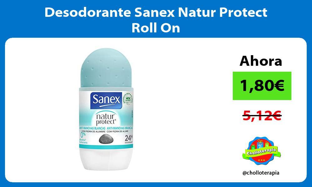 Desodorante Sanex Natur Protect Roll On