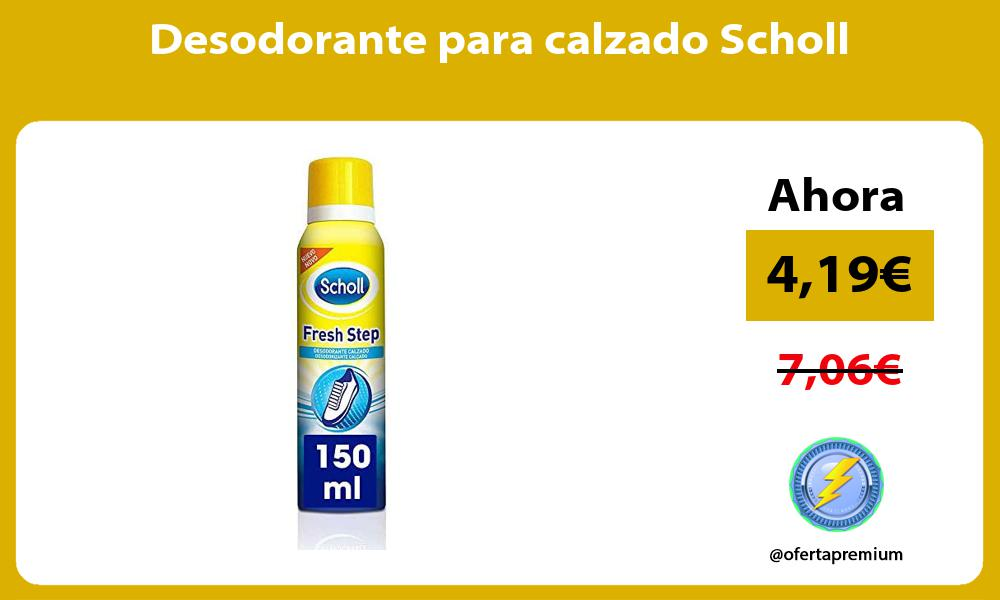Desodorante para calzado Scholl