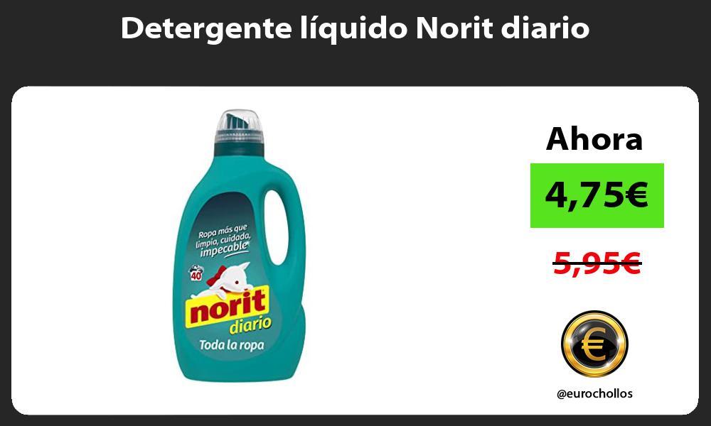 Detergente líquido Norit diario