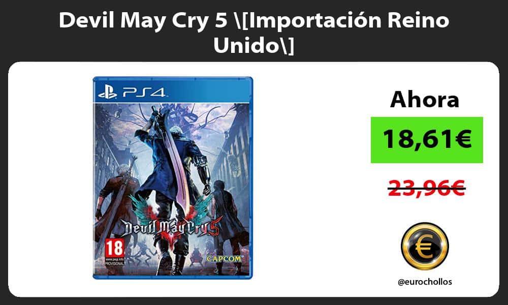 Devil May Cry 5 Importación Reino Unido