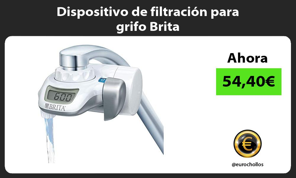 Dispositivo de filtración para grifo Brita