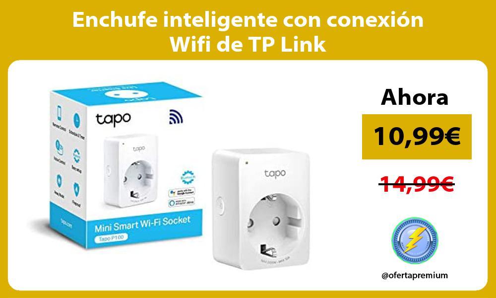 Enchufe inteligente con conexión Wifi de TP Link