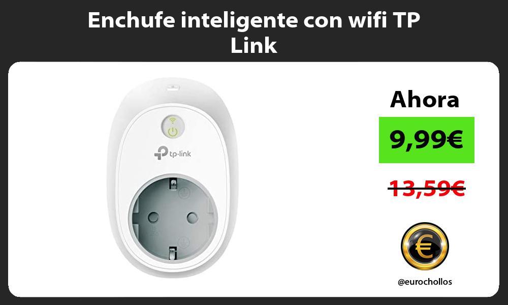 Enchufe inteligente con wifi TP Link
