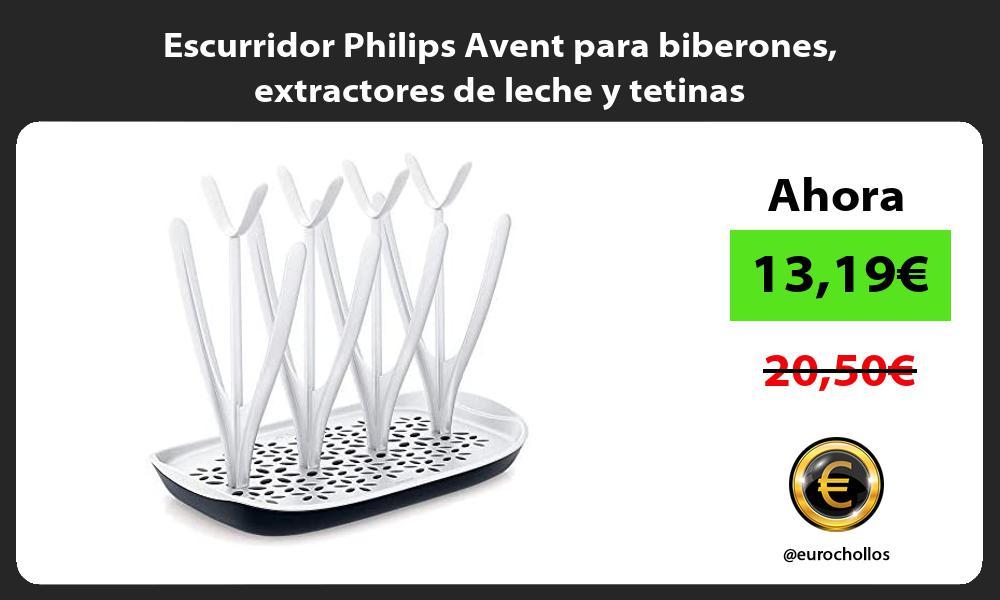 Escurridor Philips Avent para biberones extractores de leche y tetinas