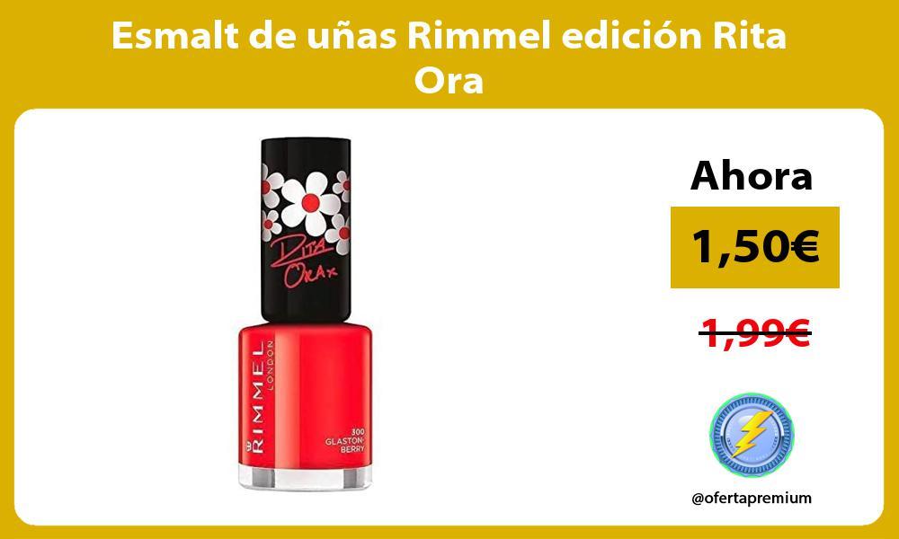 Esmalt de uñas Rimmel edición Rita Ora