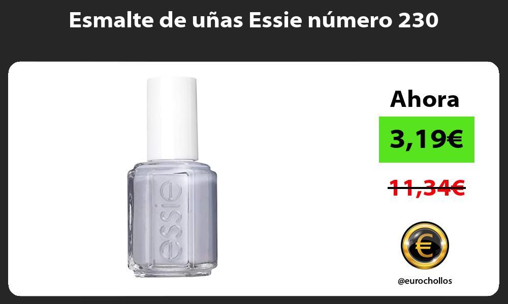 Esmalte de uñas Essie número 230