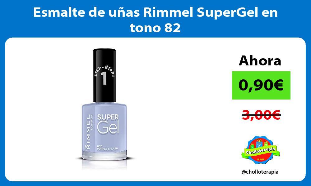 Esmalte de uñas Rimmel SuperGel en tono 82