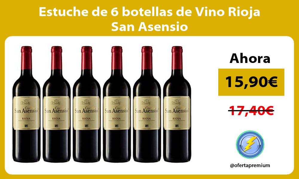 Estuche de 6 botellas de Vino Rioja San Asensio