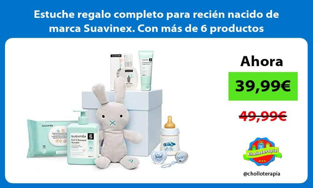 Estuche regalo completo para recién nacido de marca Suavinex Con más de 6 productos
