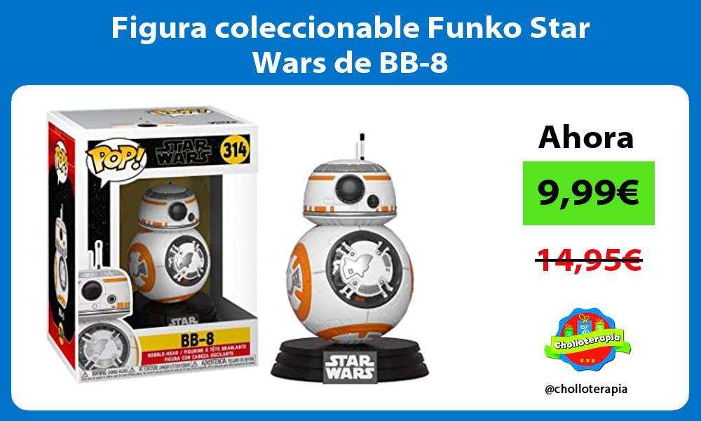 Figura coleccionable Funko Star Wars de BB 8