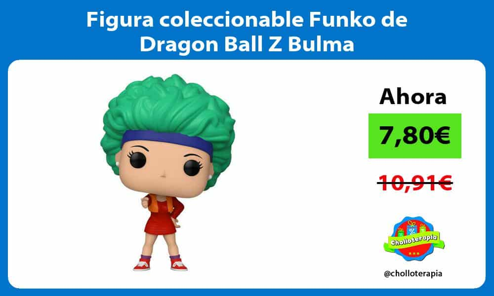 Figura coleccionable Funko de Dragon Ball Z Bulma