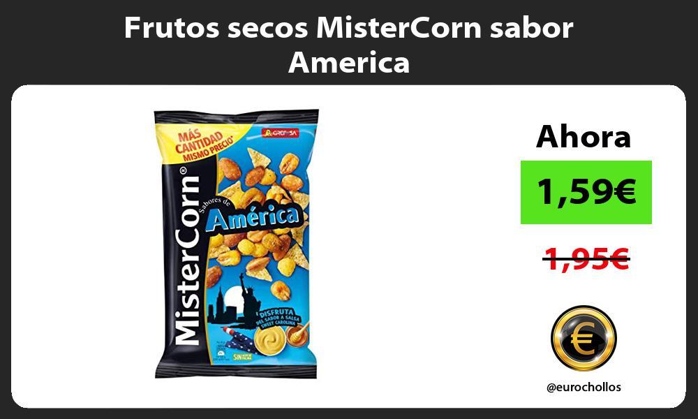 Frutos secos MisterCorn sabor America