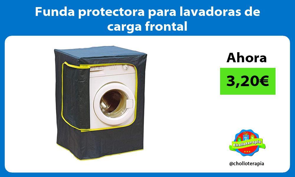 Funda protectora para lavadoras de carga frontal