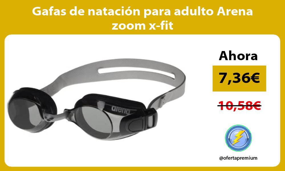 Gafas de natación para adulto Arena zoom x fit