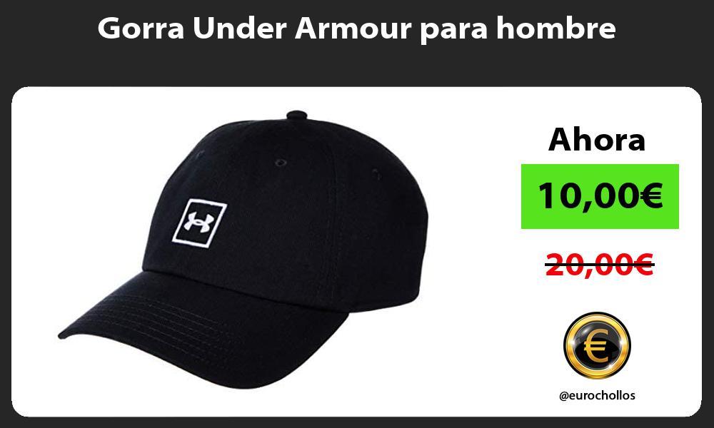 Gorra Under Armour para hombre