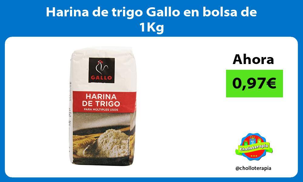 Harina de trigo Gallo en bolsa de 1Kg