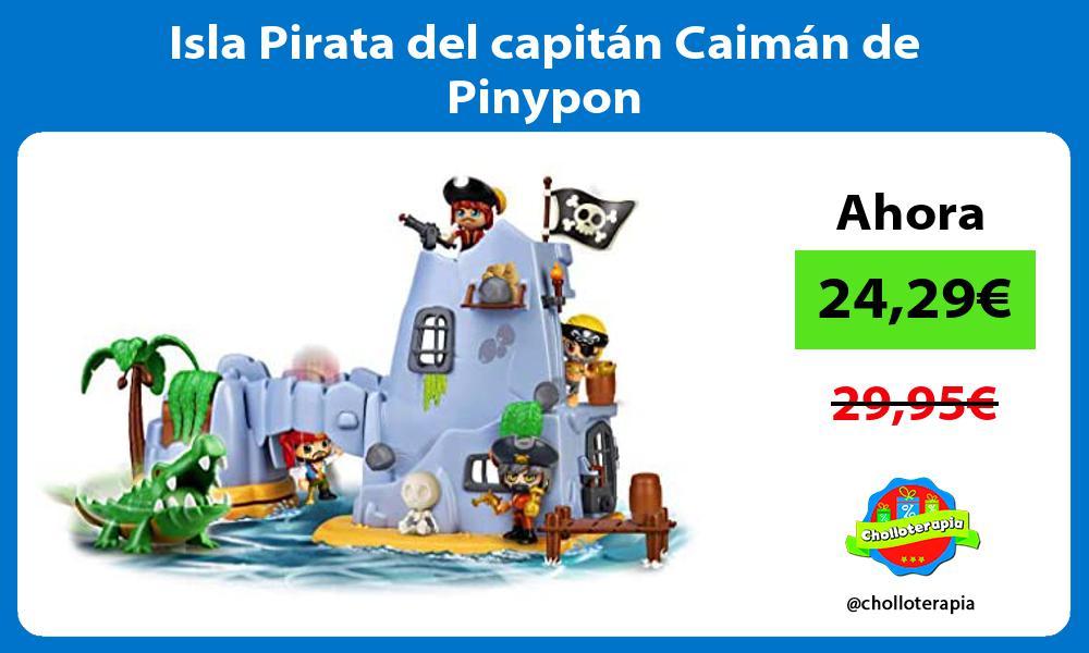 Isla Pirata del capitán Caimán de Pinypon