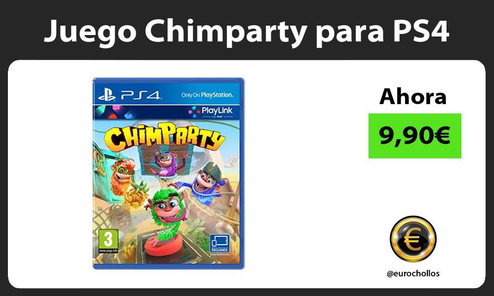Juego Chimparty para PS4