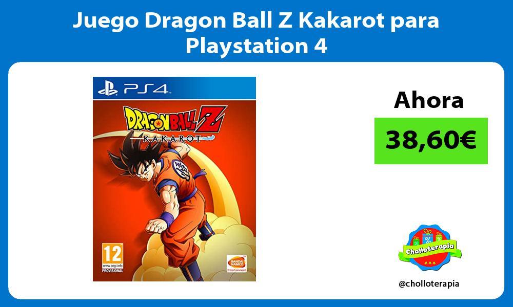 Juego Dragon Ball Z Kakarot para Playstation 4