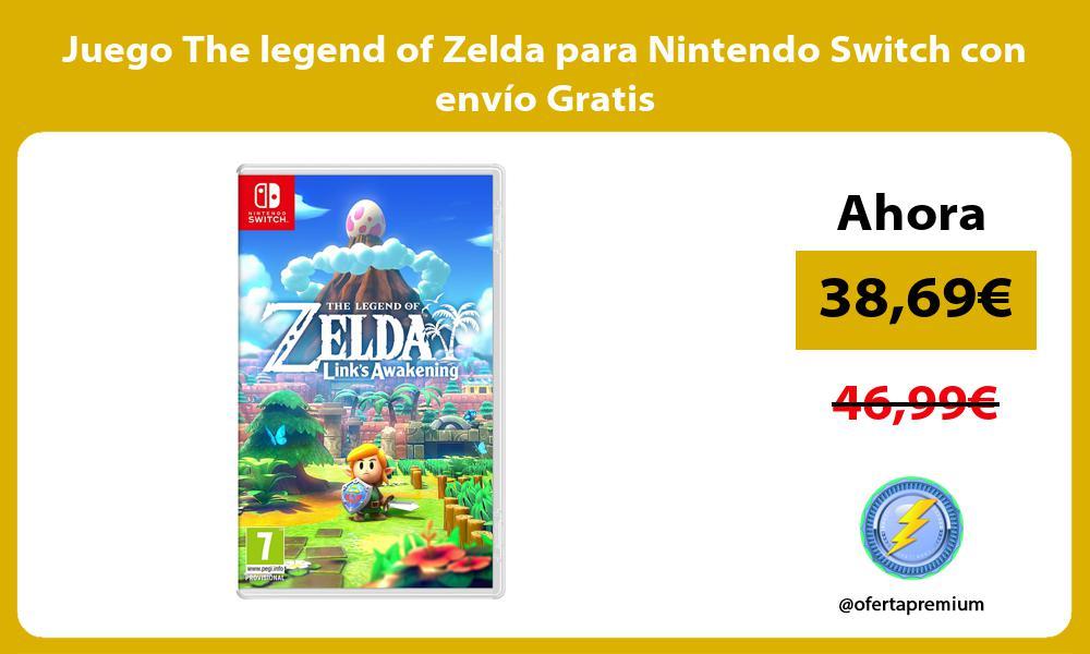 Juego The legend of Zelda para Nintendo Switch con envío Gratis
