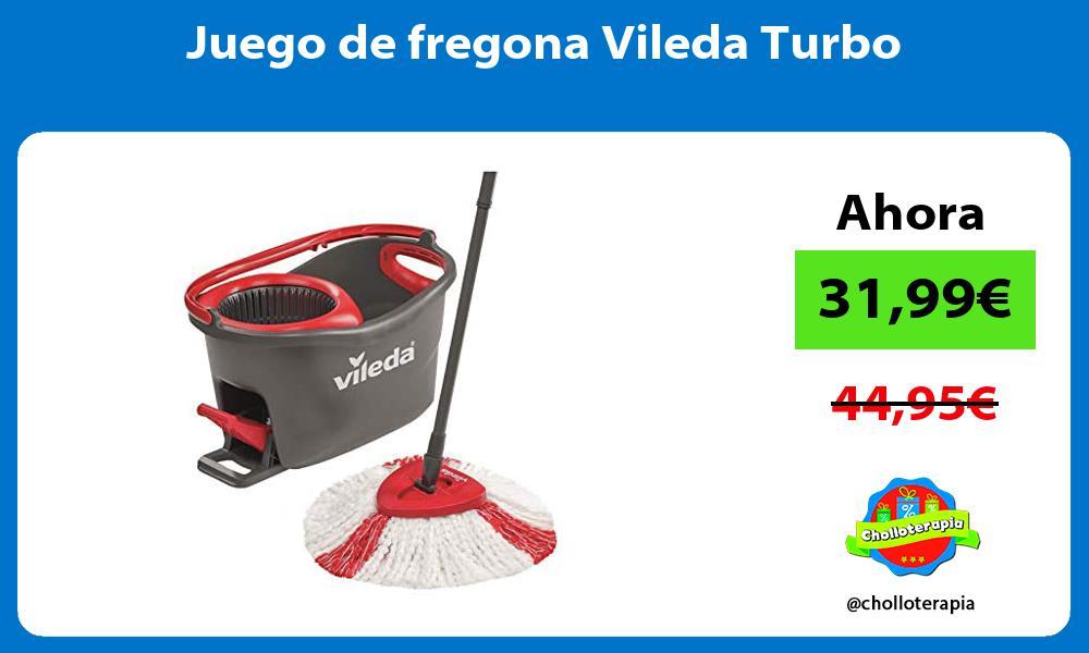 Juego de fregona Vileda Turbo