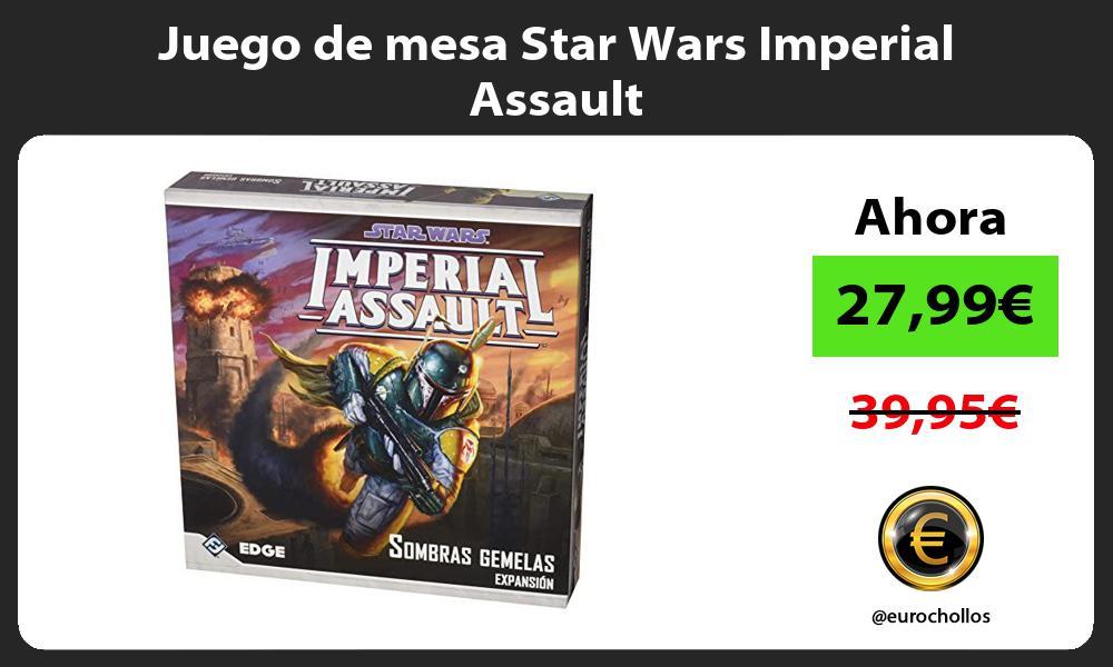 Juego de mesa Star Wars Imperial Assault