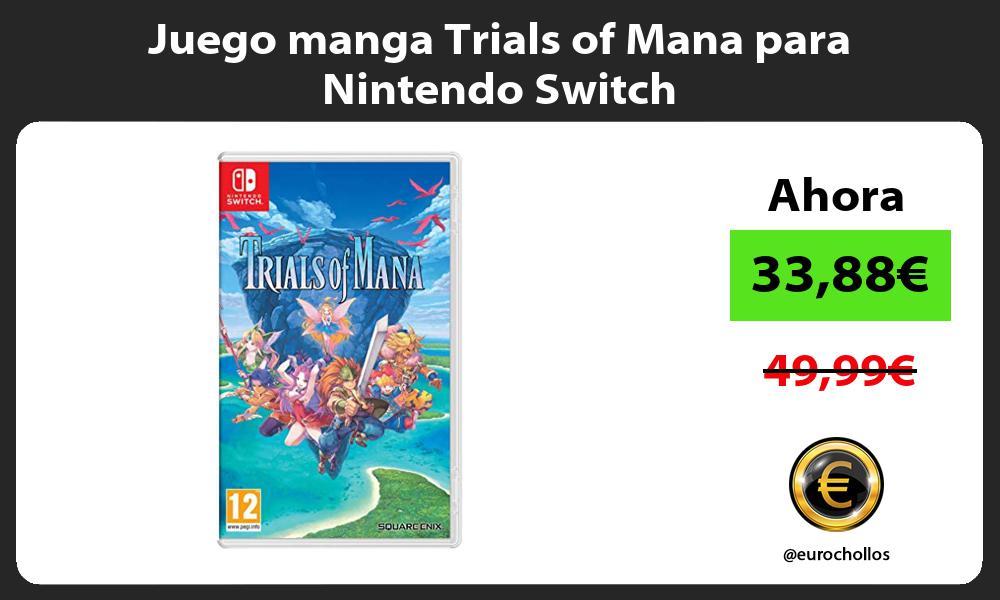 Juego manga Trials of Mana para Nintendo Switch