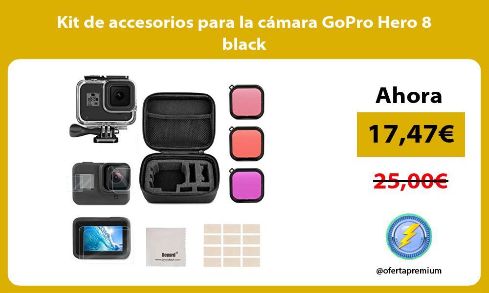 Kit de accesorios para la cámara GoPro Hero 8 black