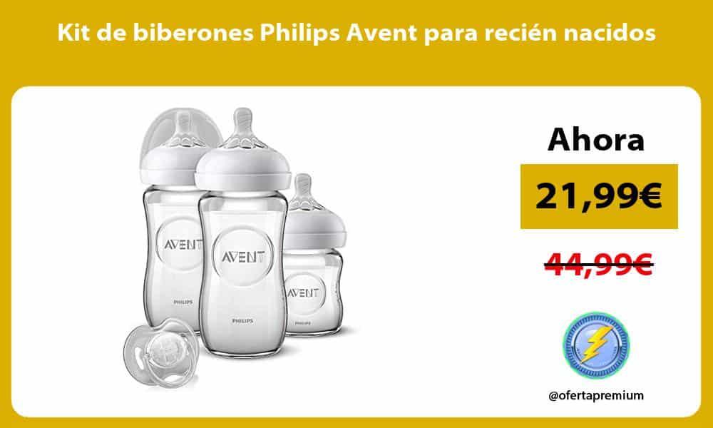 Kit de biberones Philips Avent para recién nacidos