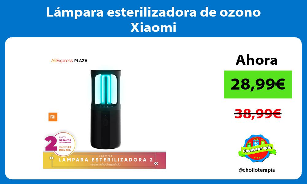 Lámpara esterilizadora de ozono Xiaomi