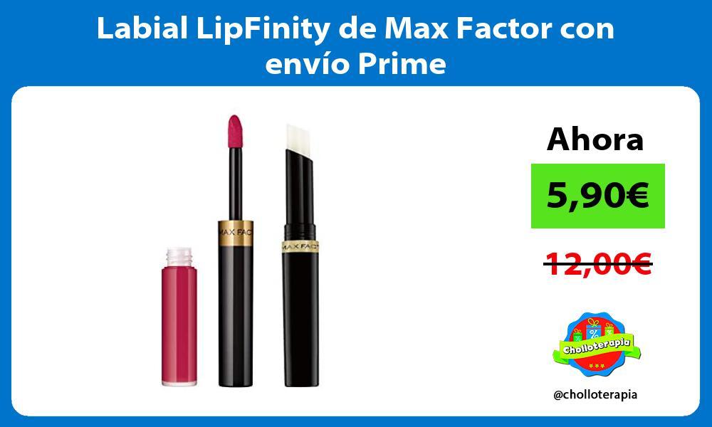 Labial LipFinity de Max Factor con envío Prime