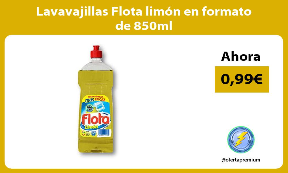 Lavavajillas Flota limón en formato de 850ml
