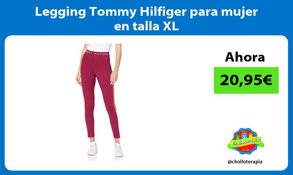 Legging Tommy Hilfiger para mujer en talla XL