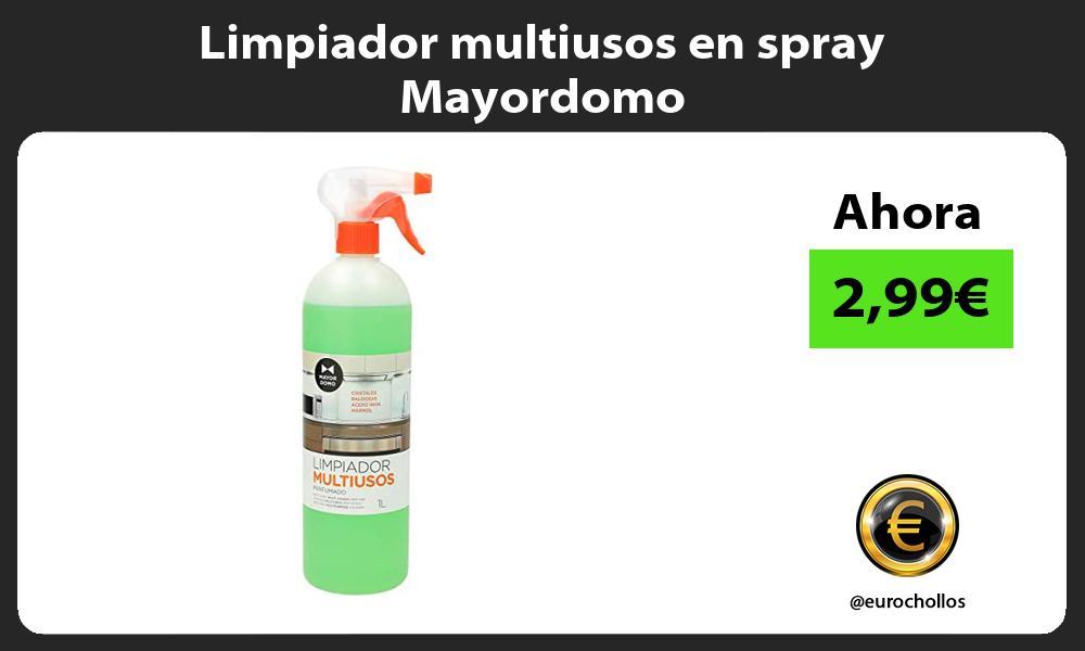 Limpiador multiusos en spray Mayordomo