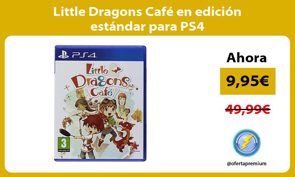 Little Dragons Café en edición estándar para PS4