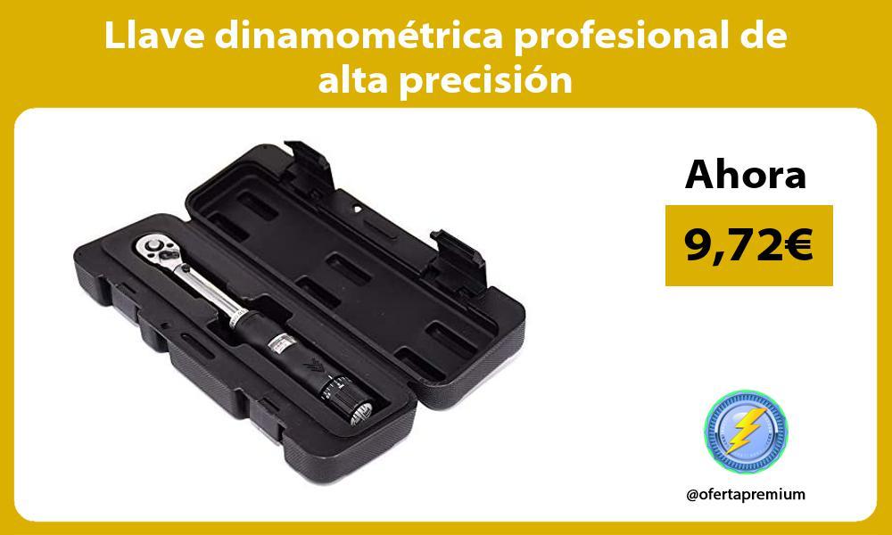 Llave dinamométrica profesional de alta precisión