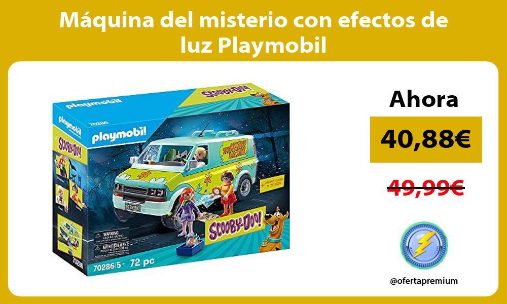 Máquina del misterio con efectos de luz Playmobil