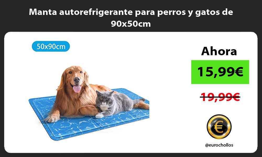 Manta autorefrigerante para perros y gatos de 90x50cm