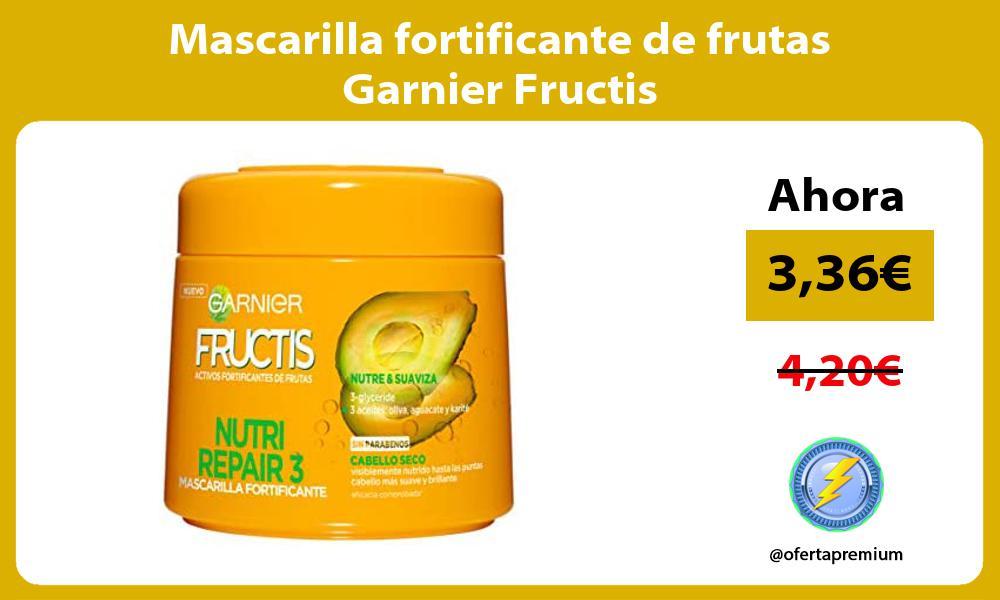 Mascarilla fortificante de frutas Garnier Fructis